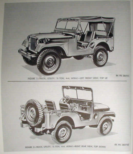 download M38 1 4 Ton 4x4 Utility Truck workshop manual
