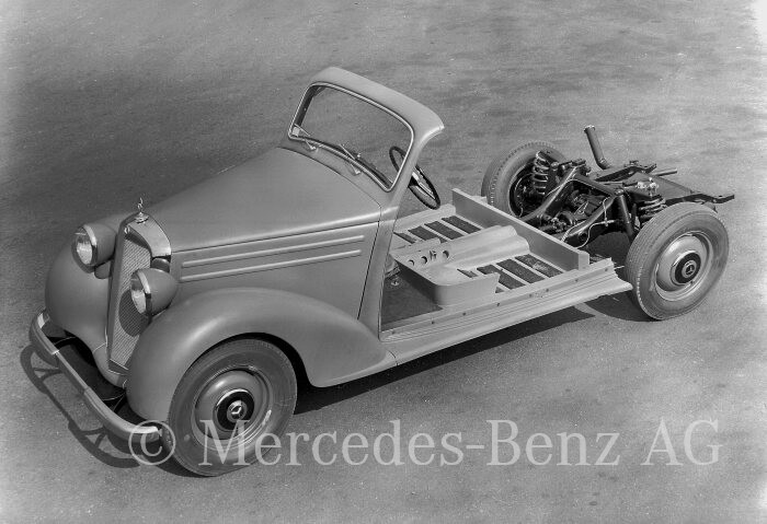 download MERCEDES 170 W191 workshop manual