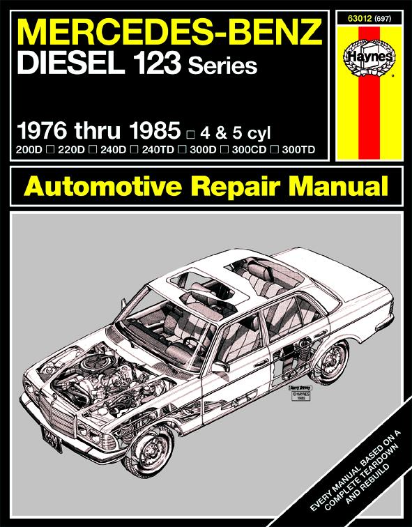 download MERCEDES BENZ W123 200D 240D 240TD 300D 300TD to workshop manual