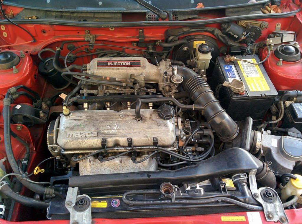 download Mazda 323 B6 workshop manual