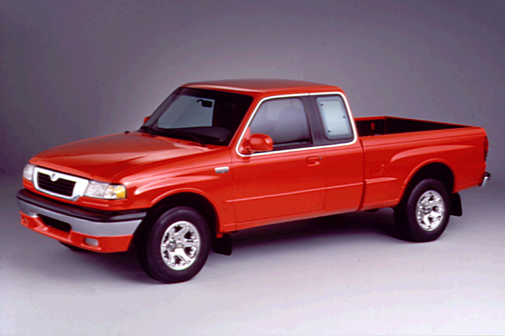 download Mazda B2500 Pickup Truck 99 workshop manual