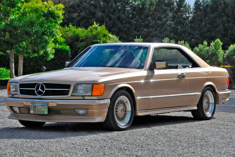 download Mercedes 500SEC 84 workshop manual