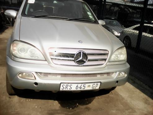 download Mercedes Benz Class M workshop manual