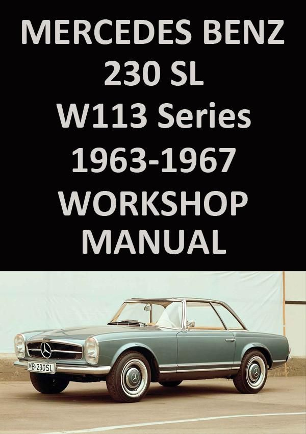 download Mercedes Benz W108 W113 Werkstatt Handbuch workshop manual