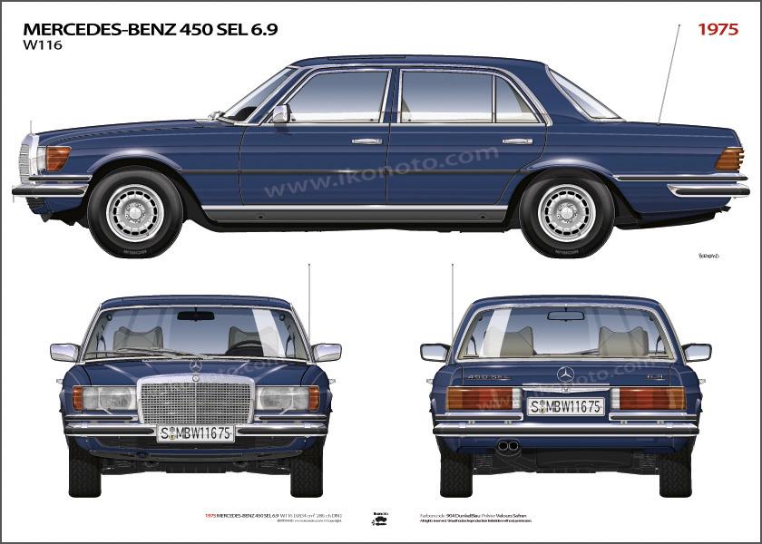 download Mercedes Benz W116 450 SEL workshop manual