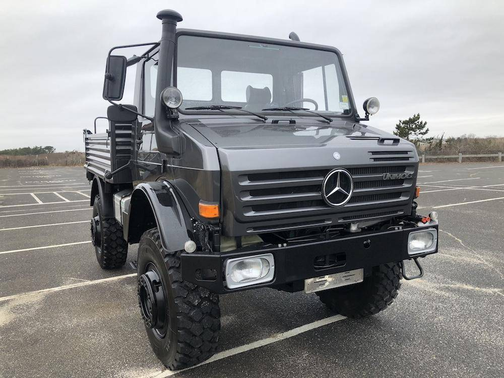 download Mercedes Unimog Class workshop manual