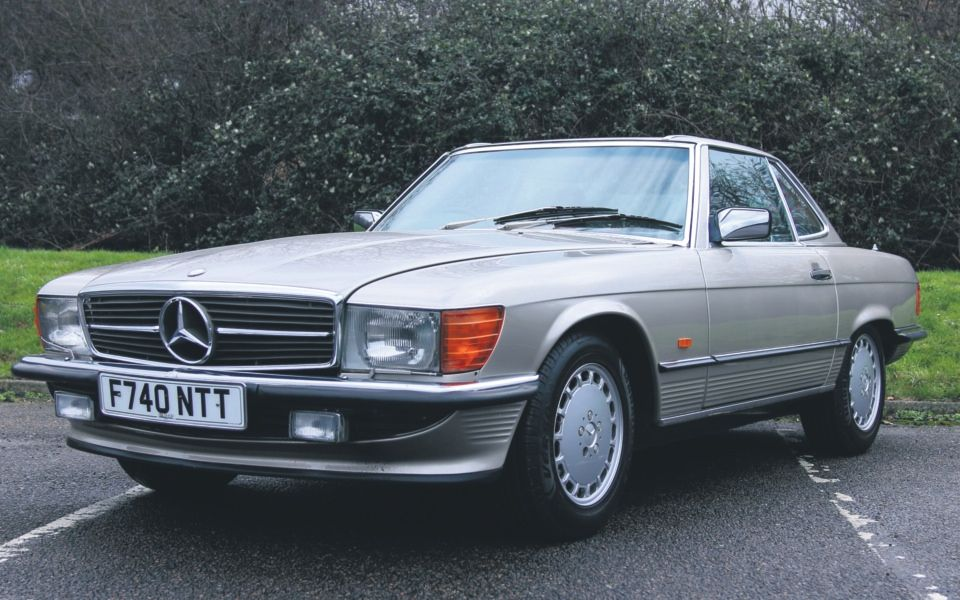 download Mercedes W107 workshop manual