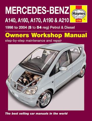 download Mercedes W168 A Class workshop manual