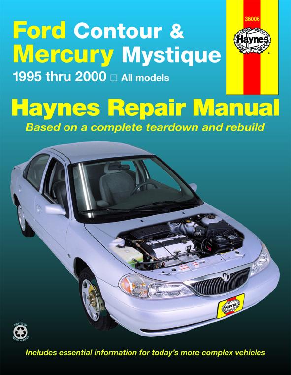 download Mercury Mystique workshop manual