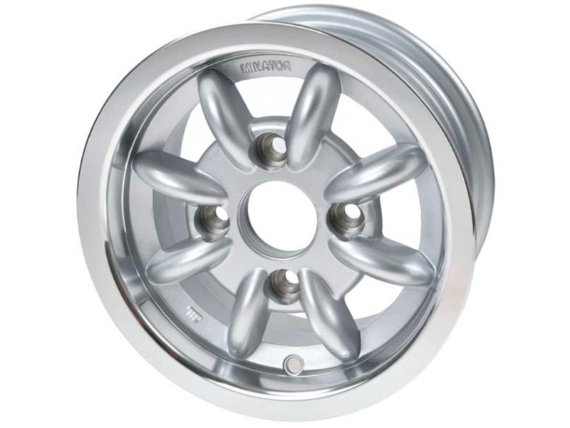 download Minilite Style Silver T A Alloy Rim Silver workshop manual