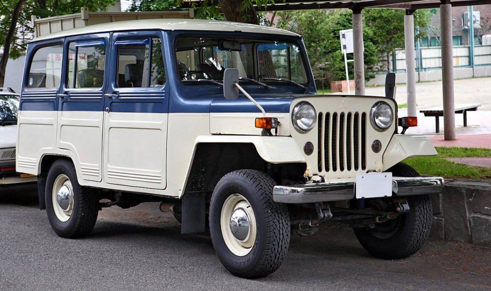 download Mitsubishi J Series Jeep workshop manual