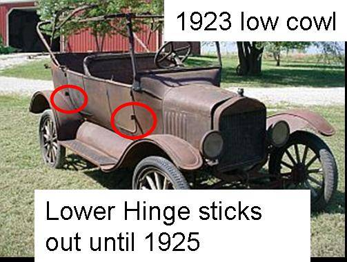 download Model A Ford Cowl Braces Lower Open Cars Only FitInside Cowl workshop manual