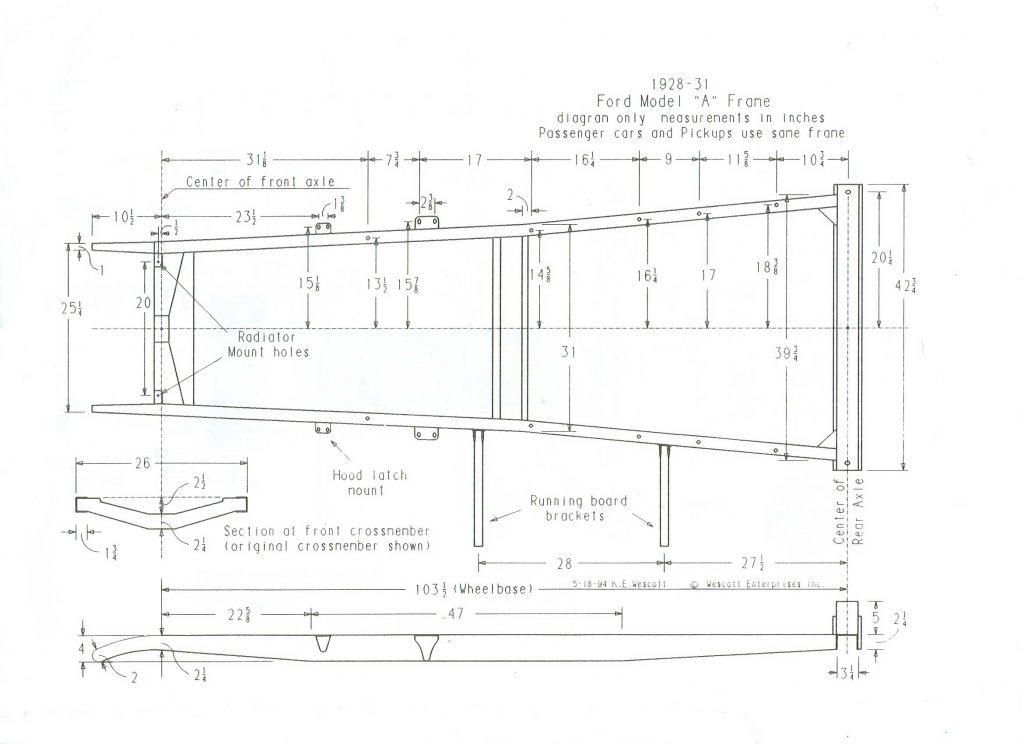 download Model A Ford Subrail Length Tudor Sedan Phaeton workshop manual