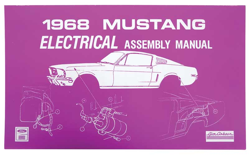 download Mustang Body Illustrations on USB workshop manual