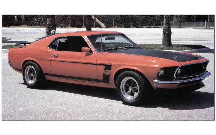 download Mustang Boss 302 Trunk Lid Stripe Kit Black workshop manual