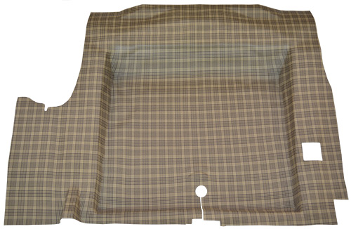 download Mustang Coupe or Convertible Trunk Mat with Plaid Pattern workshop manual