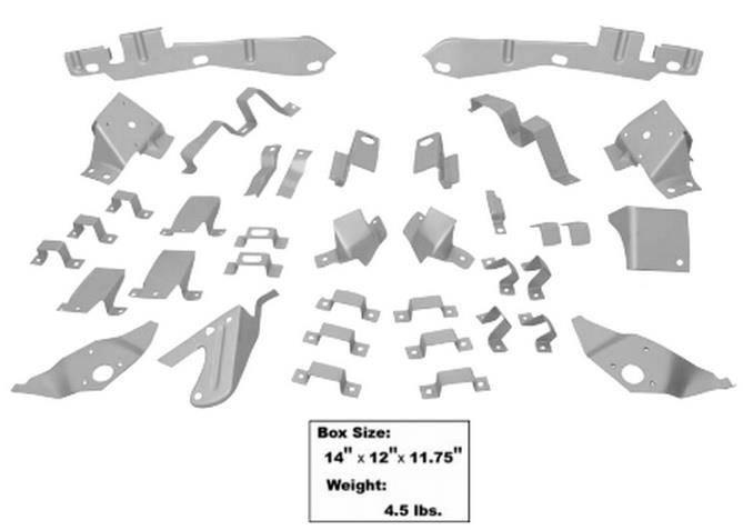 download Mustang Fastback Body Bracket Kit workshop manual