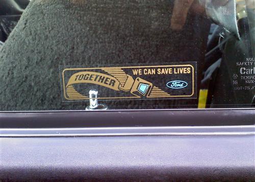 download Mustang Seat Belt Decal GET IT TOGETHER workshop manual