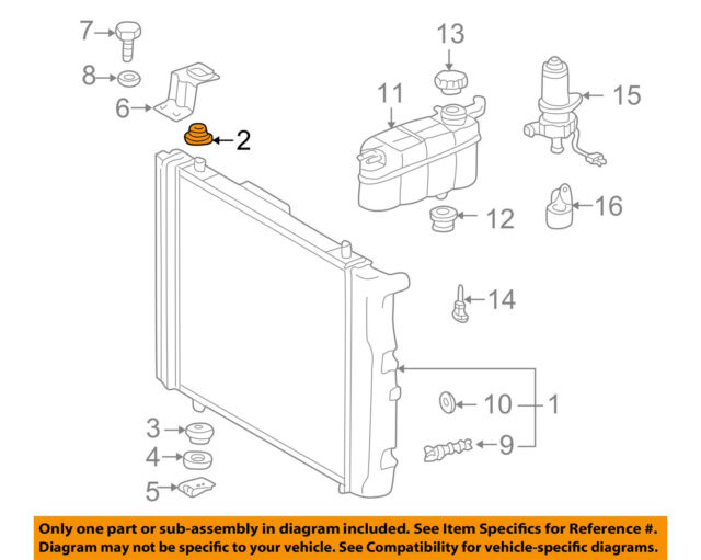 download Mustang Upper Radiator Mount Insulators 3 Row Radiator workshop manual