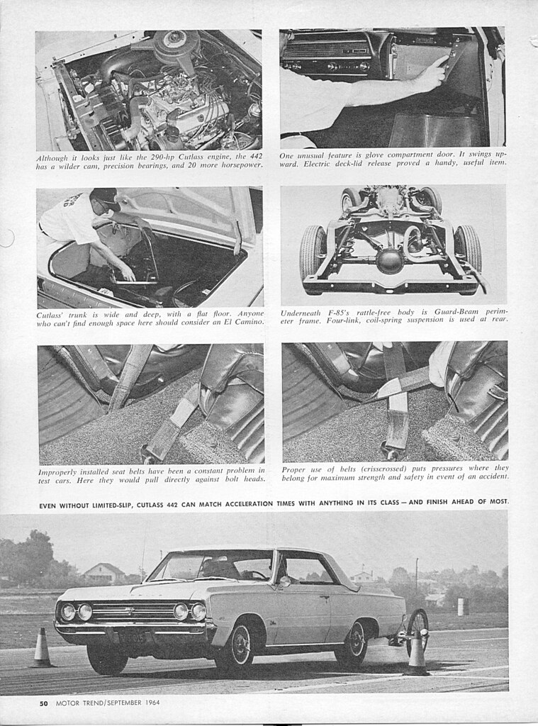 download Oldsmobile Chassis Body Illustration 442 F 85 Cutlass S workshop manual