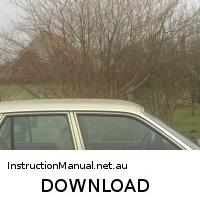 download OPEL SENATOR workshop manual