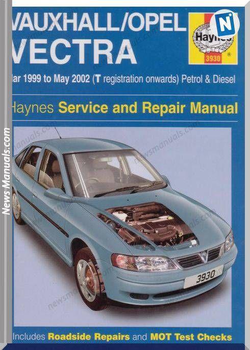 download Opel Vauxhall Vectra Manua workshop manual