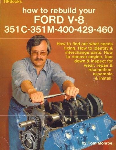 download PCV Hose Formed As Original With Script 351C V8 Ford workshop manual