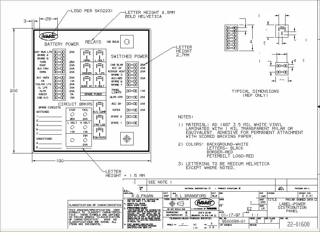 download Peterbilt 348 Schematics workshop manual