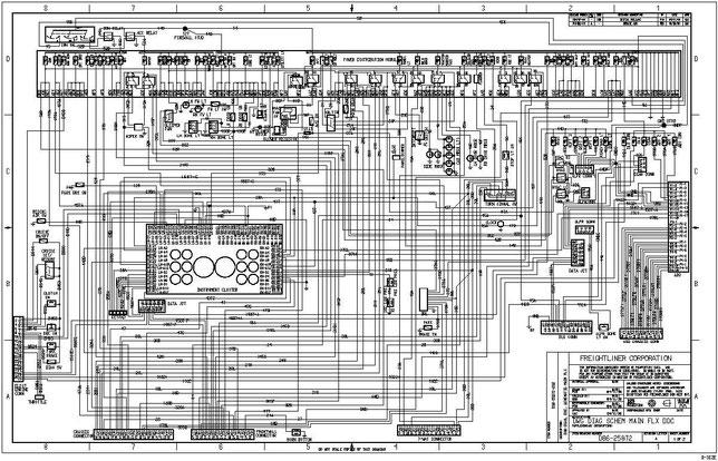 download Peterbilt truck 389Family Schematic workshop manual