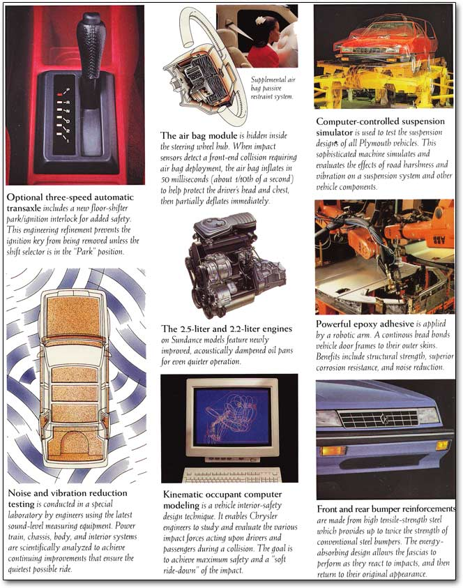download Plymouth Sundance workshop manual