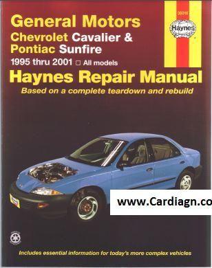 download Pontiac Sunfire workshop manual