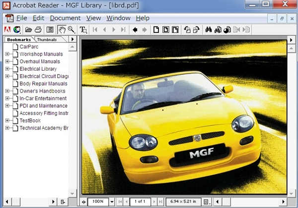 download ROVER MINI MGF 100 200 400 600 800 CABRIOLET COUPE Tourer workshop manual