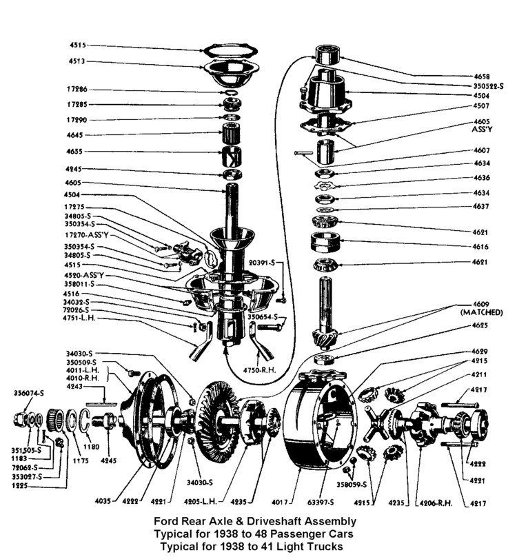 download Rear Axle Housing Gasket .010 Thick Ford Pickup Truck workshop manual