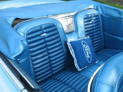 download Rear Bench Seat Cover Hardtop Cars With Front Bucket Seats Galaxie 500 XL workshop manual