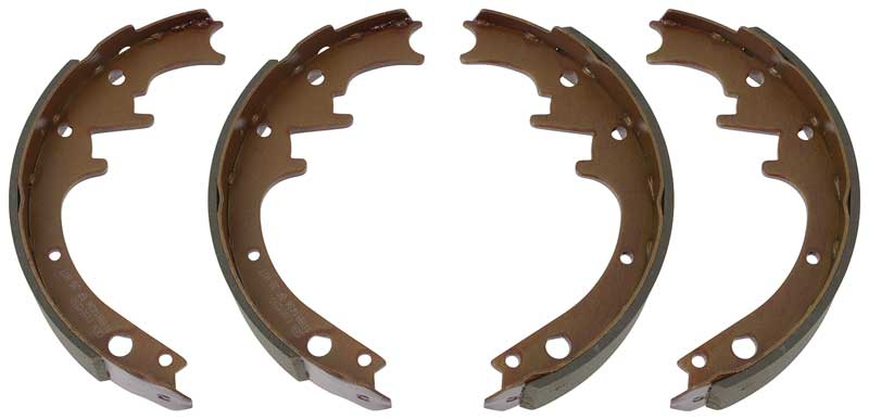 download Relined Rear Brake Shoes 11 X 1 Ford Mercury workshop manual