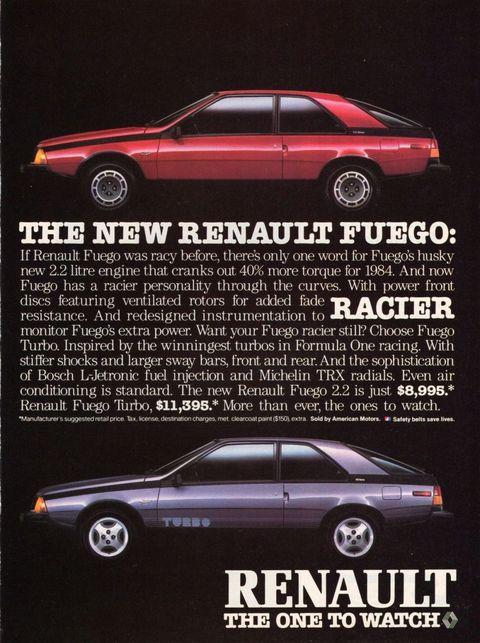 download Renault R18 Fuego workshop manual