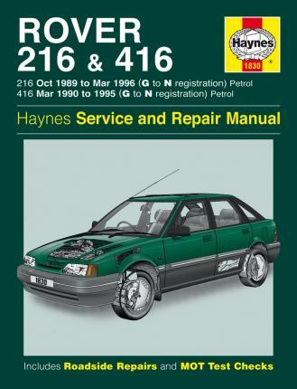 download Rover 416 workshop manual