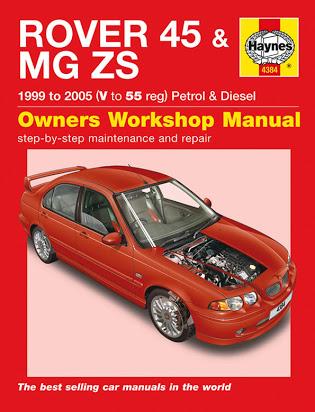 download Rover 45 workshop manual