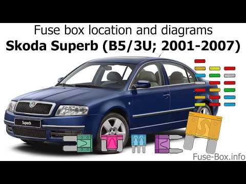 download SKODA SUPERB B5 workshop manual