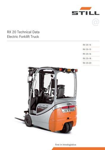 download STILL RX20 15 RX20 16 RX20 18 RX20 20 RX60 16 RX60 18 RX60 20 Electric Forklift Truck Manu workshop manual