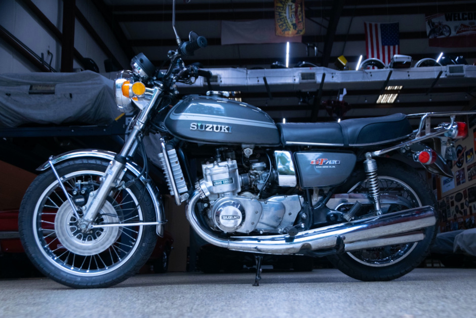 download SUZUKI GT750 Motorcycle able workshop manual