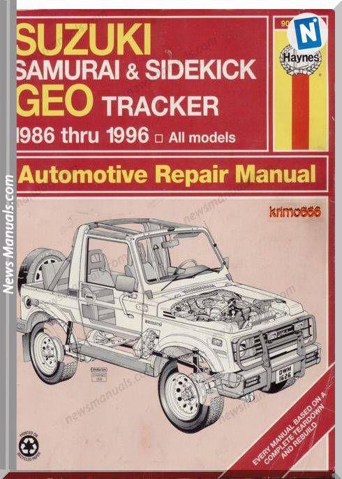 download SUZUKI SJ413 workshop manual