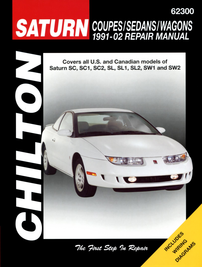 download Saturn SW2 workshop manual