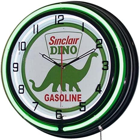 download Sinclair Dino Gasoline 20 Neon Clock workshop manual