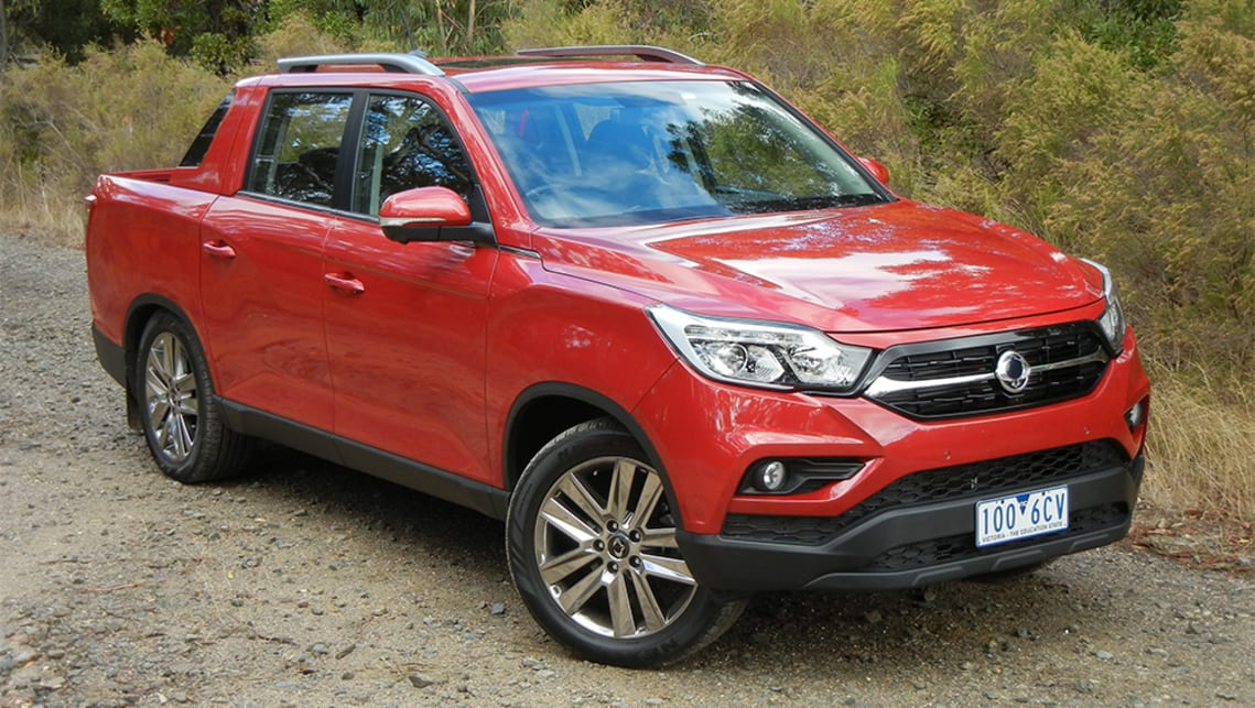 download Ssangyong Musso workshop manual