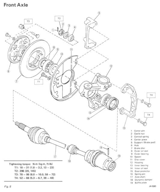 download Subaru Justy 93 workshop manual