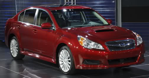 download Subaru Legacy workshop manual