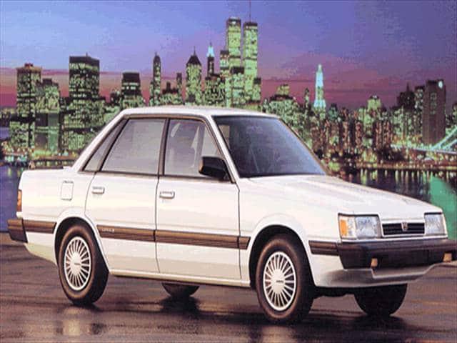 download Subaru Loyale workshop manual