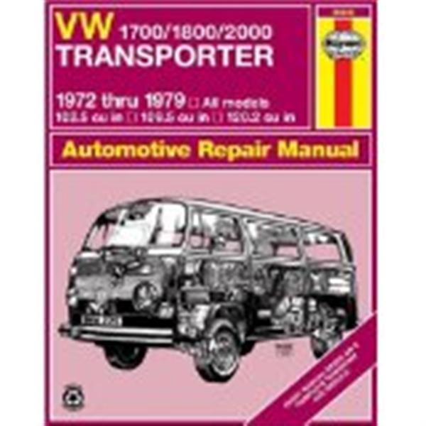download TRANSPORTER 1600 T2 TYPE 2 workshop manual