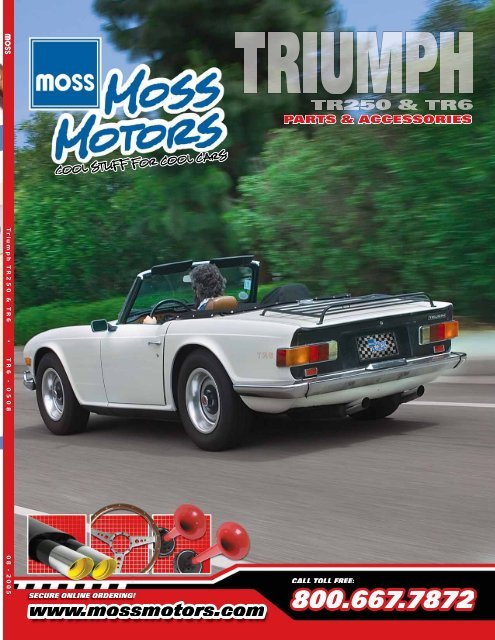 download TRIUMPH Classic TONNEAU FITTING INFO workshop manual